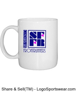 Coffee Mug with SFFR logo Design Zoom