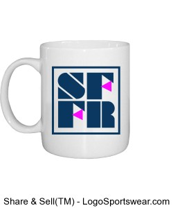 Coffee mug with SFFR large logo Design Zoom