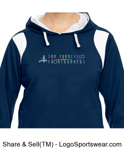 Ladies Elite Performance Hoodie Design Zoom