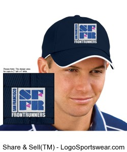 Navy Cap Design Zoom