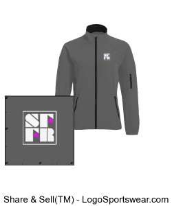 Ladies Omni Lightweight Soft Shell jacket Design Zoom