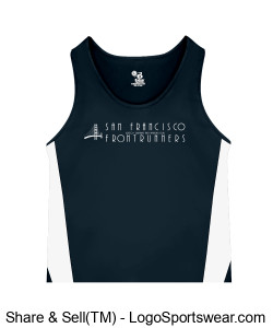 LGBTQ SFFR Logo on Singlet Design Zoom